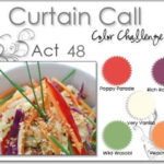 Curtain call colour challenge