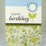 Spring card and gift card holder