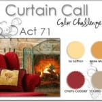 Curtain Call Colour Challenge # 71