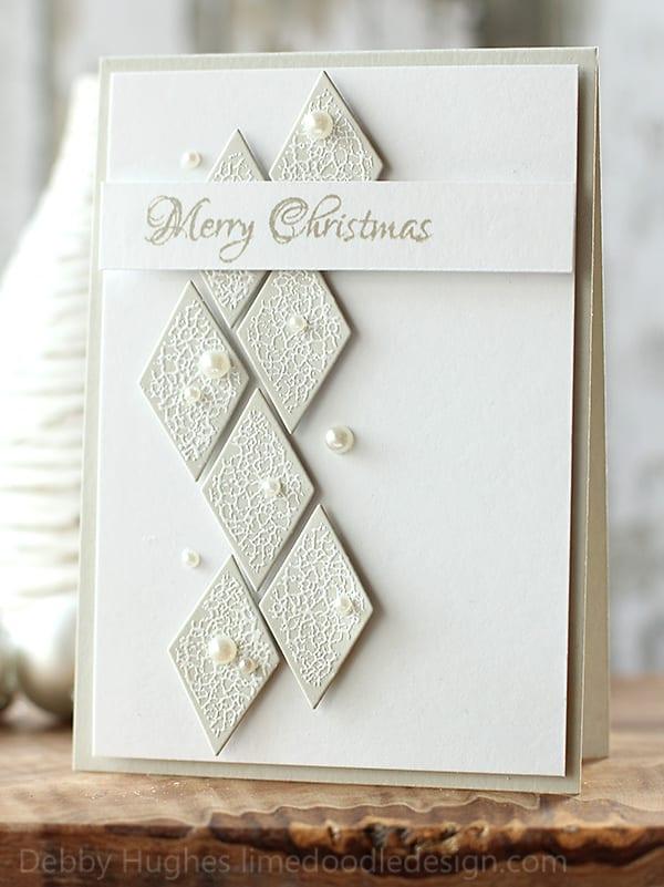 Merry christmas for Elegant christmas card ideas