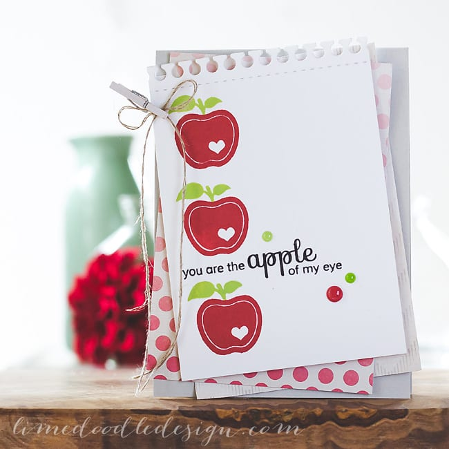 Debby Hughes - Lime Doodle Design - Clearly Besotted Stamps stamps & dies, Simon Says Stamp ink & card