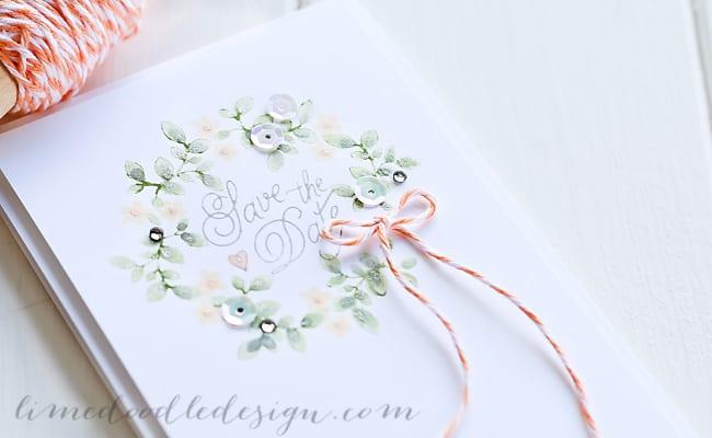 Debby Hughes - Lime Doodle Design - stamps from Simon Says Stamp