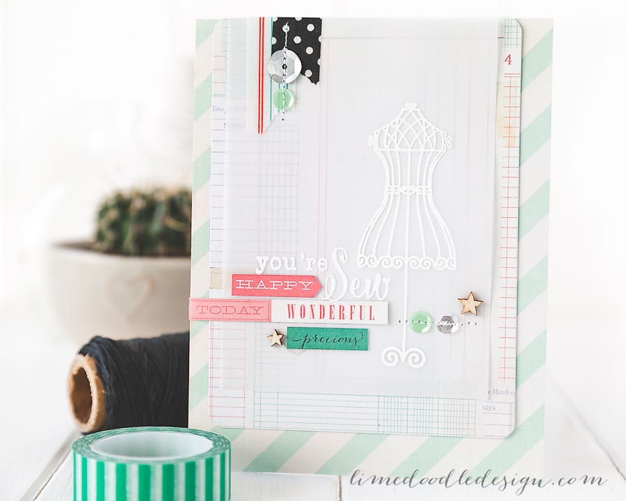 Debby Hughes - Lime Doodle Design - Clearly Besotted Stamps September release, Simon Says Stamp