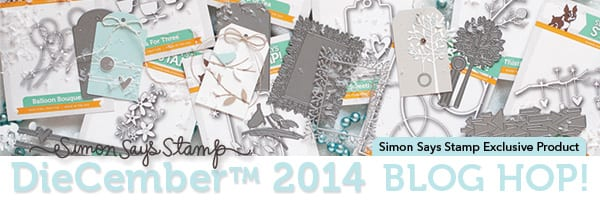 Simon Says Stamp DieCember Blog Hop