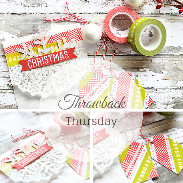 Throwback Thursday - for more please visit http://limedoodledesign.com/2014/12/tbt-throwback-thursday/ Debby Hughes - Lime Doodle Design #throwback #thursday #christmas #packaging #gift #tag