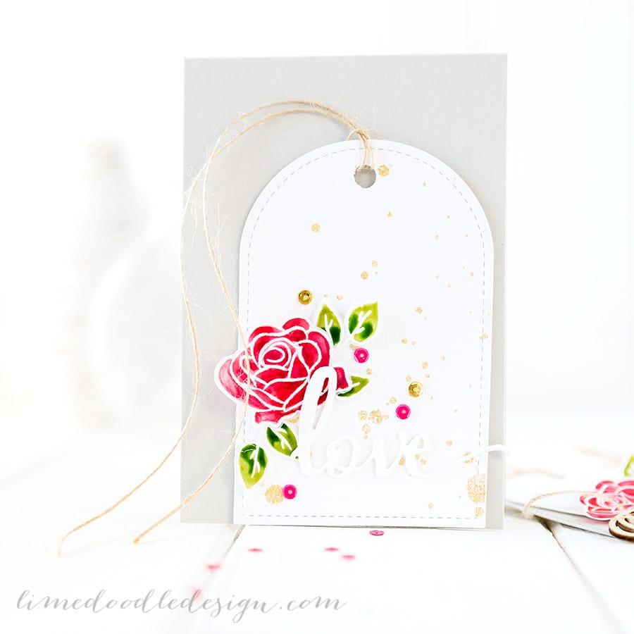 For more please visit http://limedoodledesign.com/2015/01/pretty-pink-posh-birthday-bash/ Debby Hughes - Lime Doodle Design #love #card #valentine #wedding