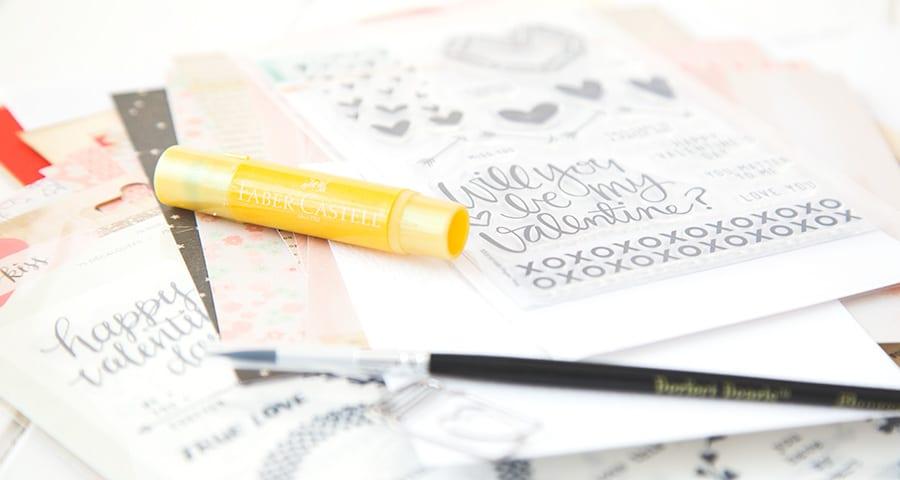 Peek Feb Card Kit. For more please visit http://limedoodledesign.com/2015/01/wishing/ Debby Hughes - Lime Doodle Design - #card #kit