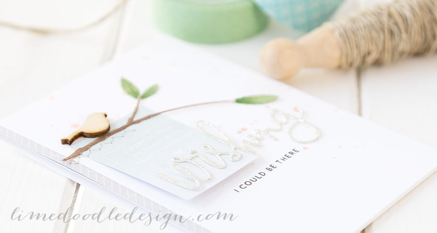 Delicate die cutting. For more please visit http://limedoodledesign.com/2015/01/wishing/ Debby Hughes - Lime Doodle Design