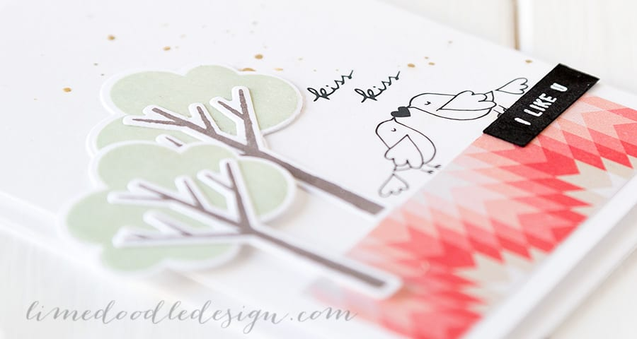 February Card Kit. For more please visit http://limedoodledesign.com/2015/01/kiss-kiss/ Debby Hughes - Lime Doodle Design #card #kit #valentine