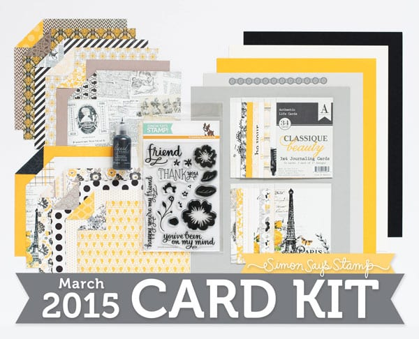 Simon Says Stamp March Card Kit