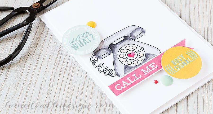 Debby Hughes - Lime Doodle Design http://limedoodledesign.com/2015/04/call-me/