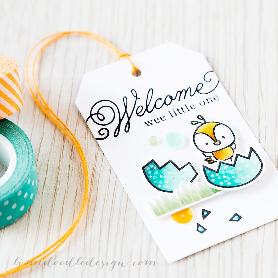 Debby Hughes - Lime Doodle Design http://limedoodledesign.com/2015/04/wee-little-one/ #tag #chick #baby