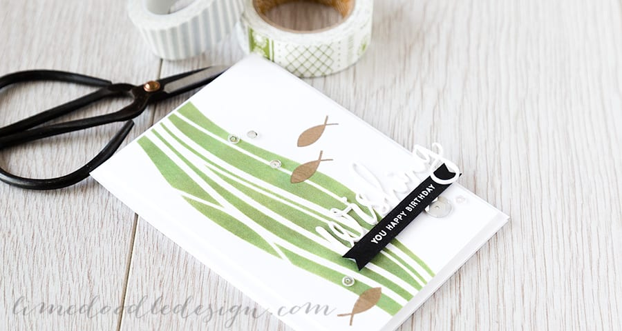 Debby Hughes - Lime Doodle Design - http://limedoodledesign.com/2015/04/wishing-you-a-…y-and-a-winner/ #card #birthday