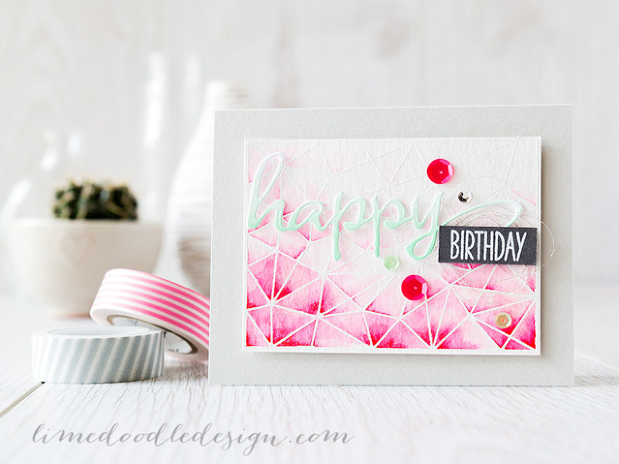 watercolour marker background Debby Hughes - Lime Doodle Design http://limedoodledesign.com/2015/05/zig-vs-distres…ker-background/ #watercolor #watercolour #marker #card #background #birthday