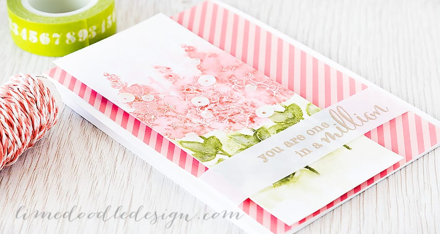 Debby Hughes - Lime Doodle Design http://limedoodledesign.com/2015/05/messy-watercolouring/ #card #flower #watercolour #watercolor