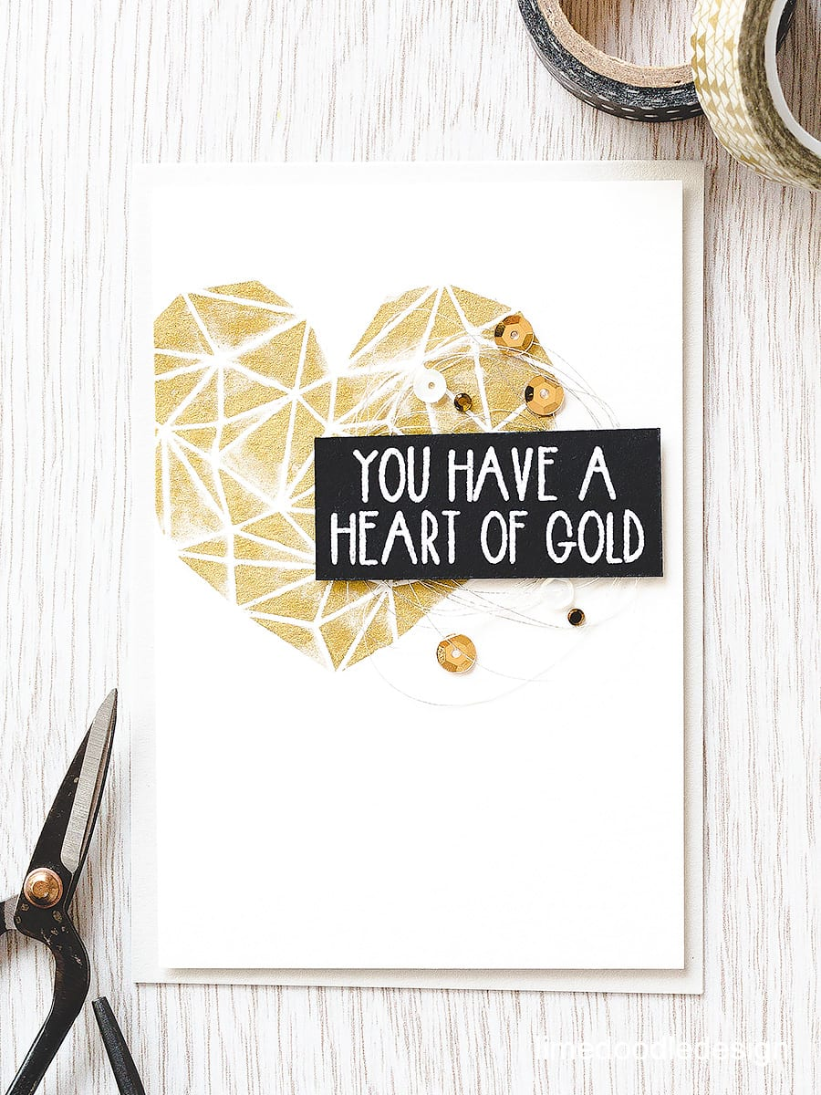 Gold watercoloring with Gansai Tambi paints and the super Heart of Gold set from Neat & Tangled. Find our more by clicking the following link: http://limedoodledesign.com/2015/08/gold-watercoloring/