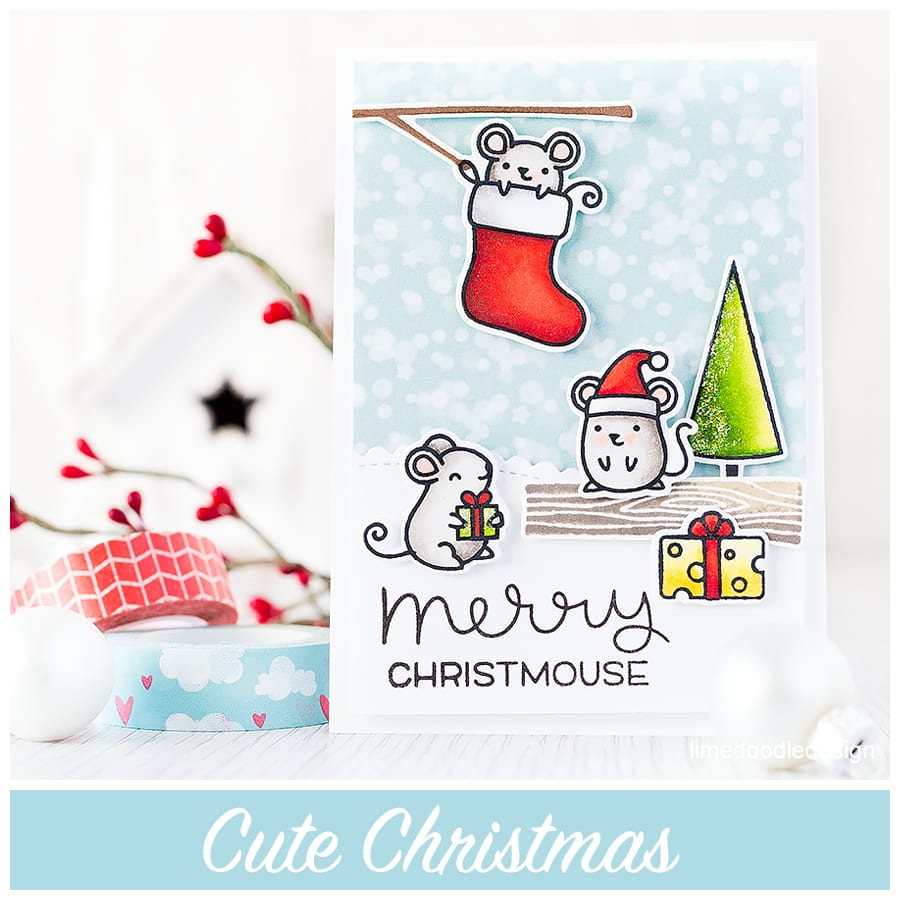 Cute Christmas. My kids and I love cute cards, especially at Christmas time. For more please click on the following link: http://limedoodledesign.com/2015/09/cute-christmas/