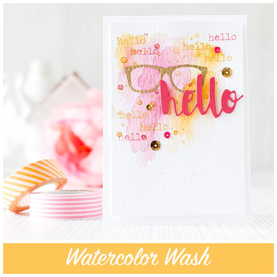 Watercolor wash - at the moment I'm seeing lots of lovely watercolor washes and am so glad the watercolor trend is still going strong! To find out more click on the following link: http://limedoodledesign.com/2015/09/watercolor-wash-giveaway/