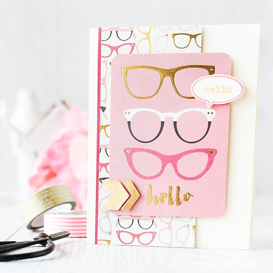 A journalling card makes a quick an easy focal point. Find out more by clicking the following link: http://limedoodledesign.com/2015/09/journalling-card/