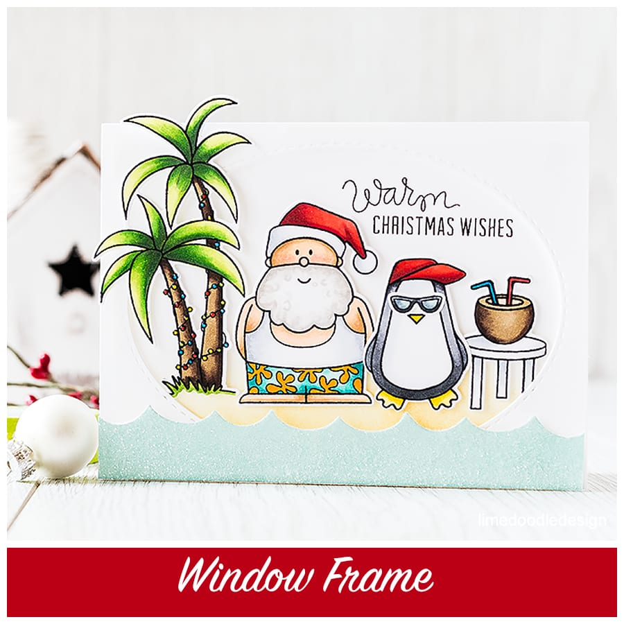 A window frame highlights this fun Christmas set. Find out more by clicking the following link: http://limedoodledesign.com/2015/09/window-frame-scene/