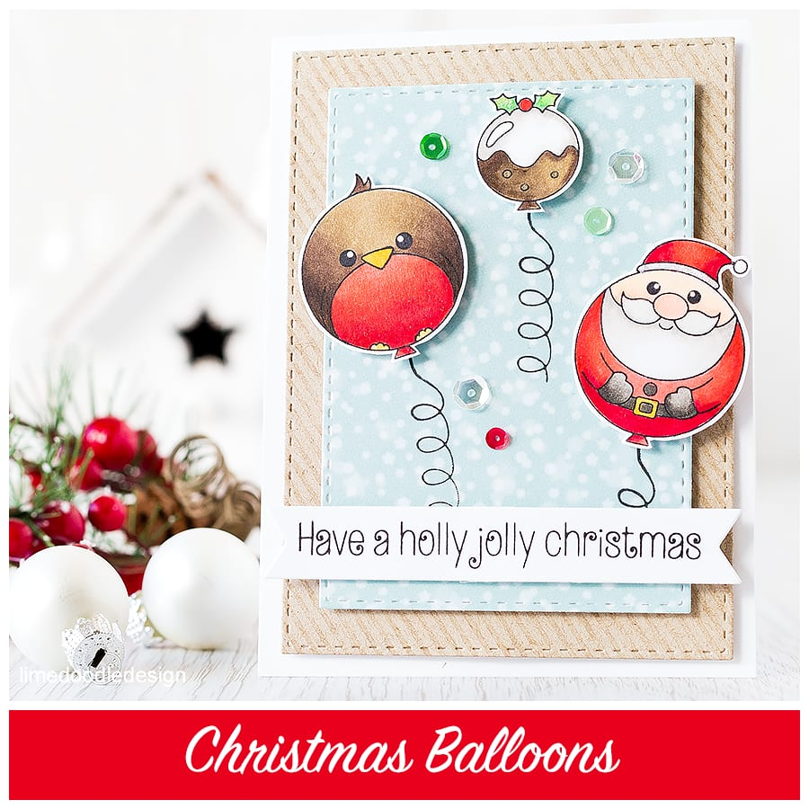 Who can resist Christmas Balloon characters LOL. Find out more by clicking the following link: http://limedoodledesign.com/2015/10/christmas-balloons/