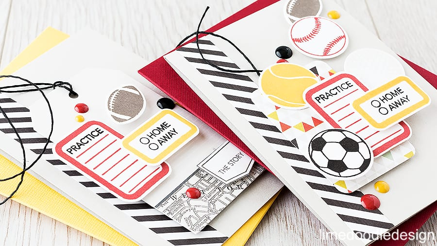 Treading the fine line of teen boys cards with these sports cards inspired by the colors of the local team. Find out more by clicking the following link: http://limedoodledesign.com/2015/10/teen-boy-cards/