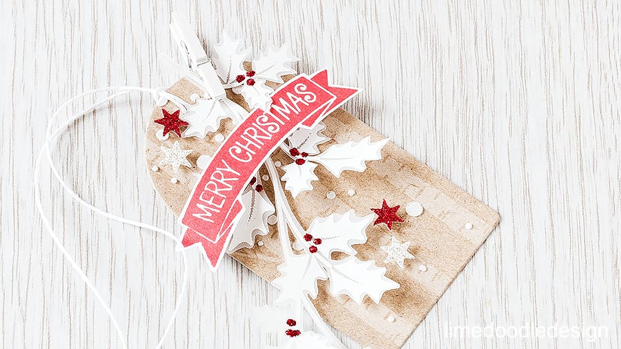 25 Days of Christmas Tags with Clearly Besotted Stamps. Find out more by visiting: http://limedoodledesign.com/2015/11/classic-christmas-giveaway/