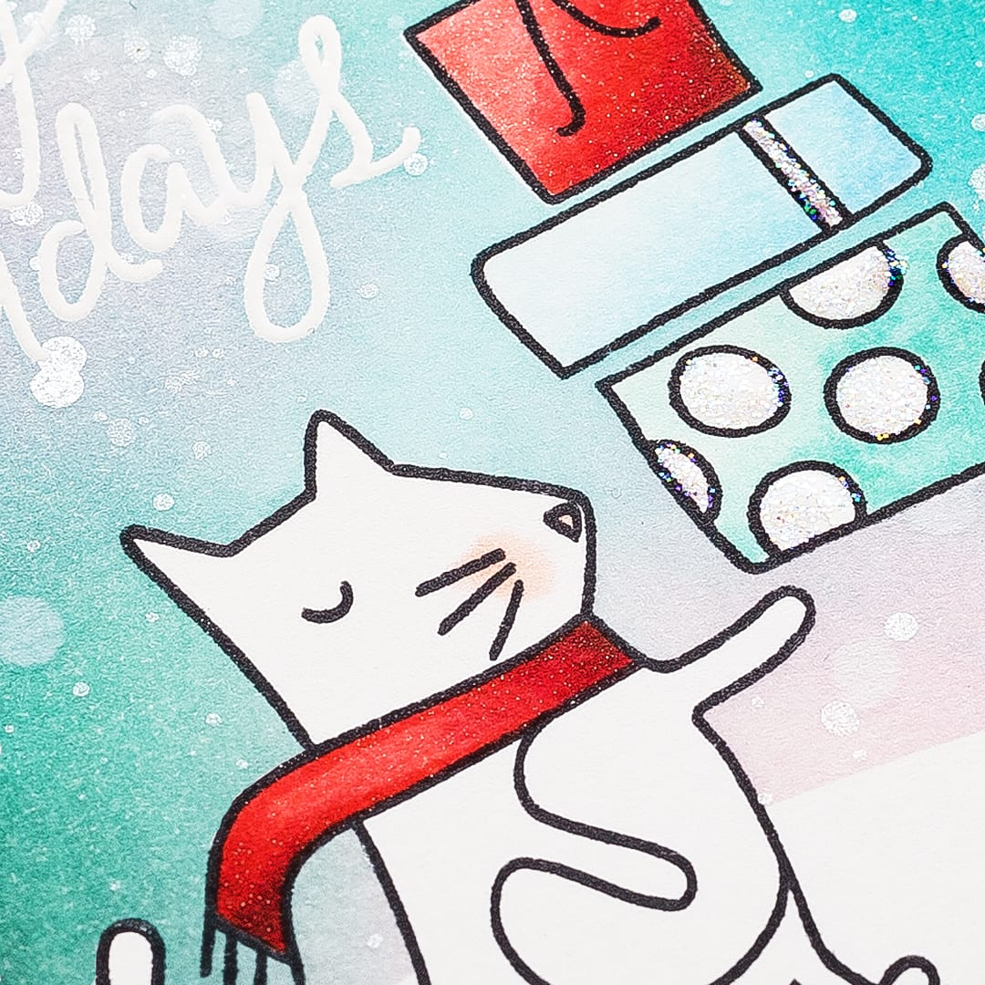 Sneaky peek of a card using the December Card Kit from Simon Says Stamp. For a video walk through of the kit and to find out more please visit: http://limedoodledesign.com/2015/11/video-december…t-walk-through/