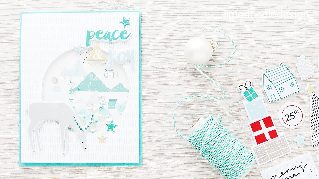 Video creating a simple shaker card using the December Card Kit from Simon Says Stamp. For more details please visit http://limedoodledesign.com/2015/11/video-simple-s…-card-giveaway/