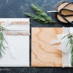 Natural materials + giveaway