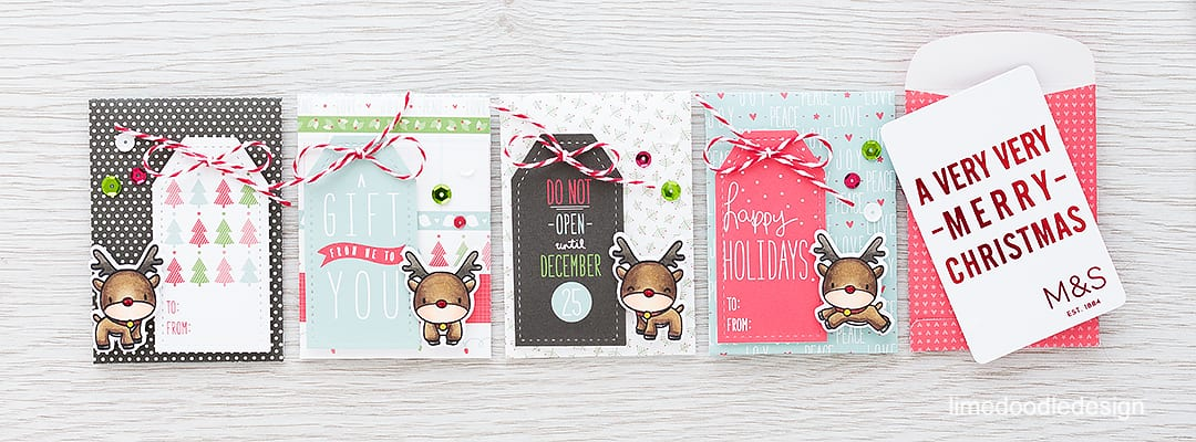 Gift Card Envelopes - with teens to buy for cute envelopes for gift cards or cash are essential! Find out more by clicking on the following link http://limedoodledesign.com/2015/12/gift-card-envelopes/ money christmas reindeer rudolph