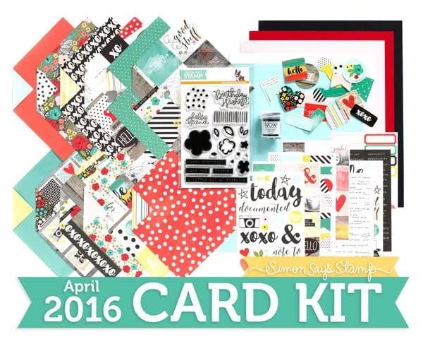 Simon Says Stamp April Card Kit