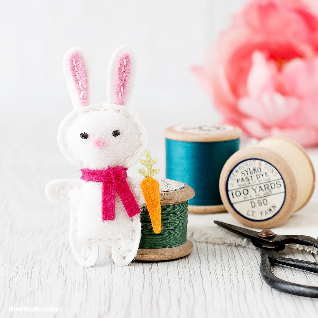 Baby Plush Bunny. Find out more by clicking on the following link: http://limedoodledesign.com/2016/03/baby-plush-bunny/