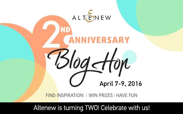 Altenew Anniversary Blog Hop