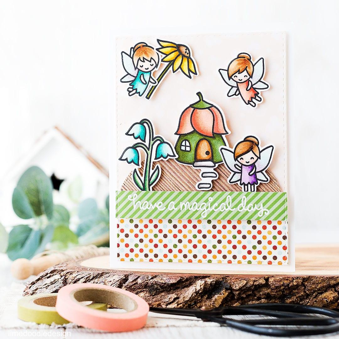 Fairy Garden Scene