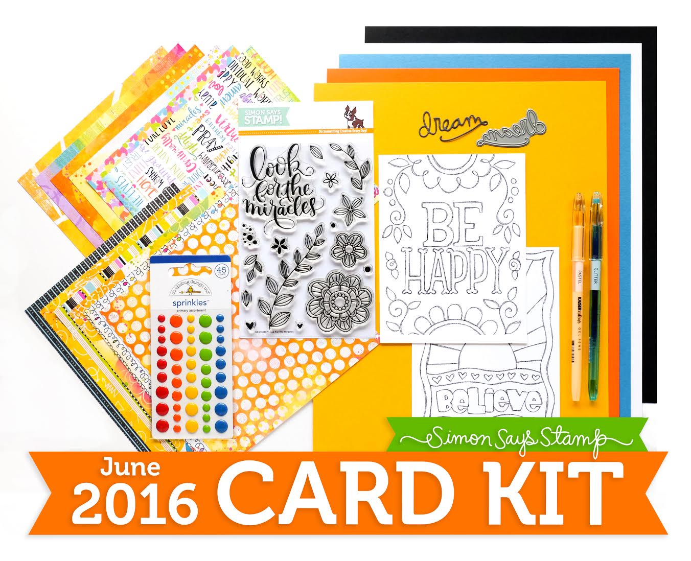 Simon Says Stamp June Card Kit