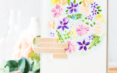 Watercoloring And Flowers Can't Solve All Problems …
