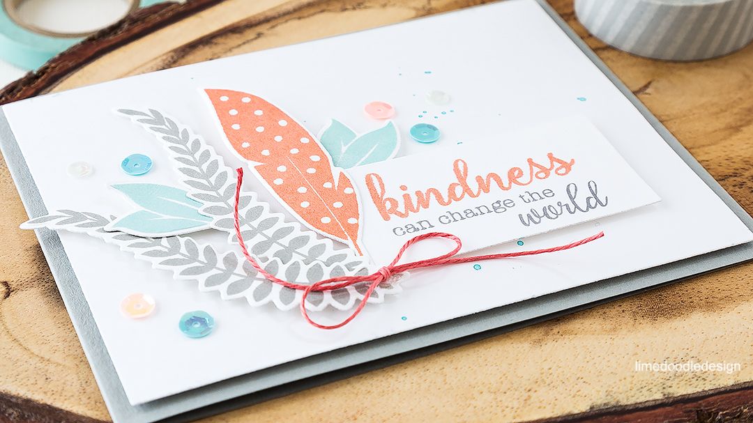 Simple elegance and the perfect message in this uplifting card. Find out more by clicking on the following link: http://limedoodledesign.com/2016/06/simple-elegance-and-the-perfect-message/