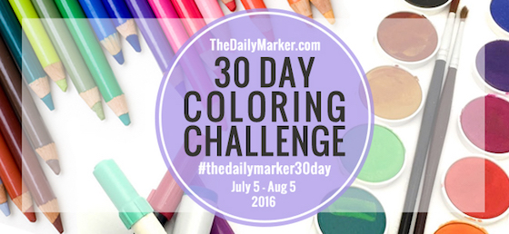 30 Day Coloring Challenge