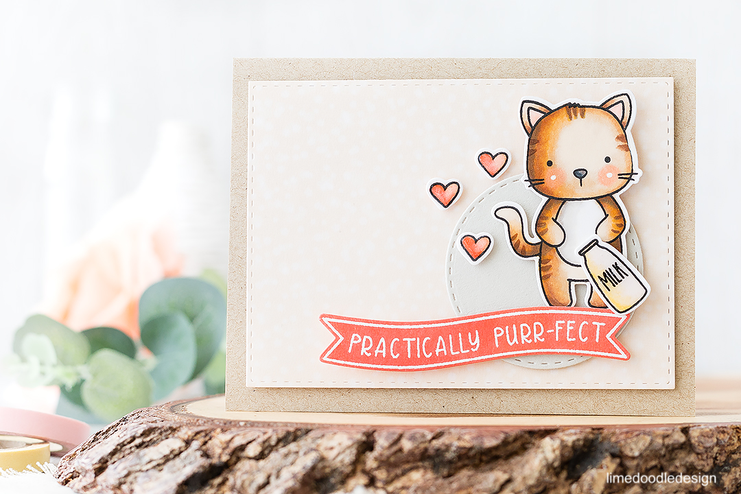 Practically Purr-fect In Every Way! Find out more about this card by clicking on the following link: http://limedoodledesign.com/2016/08/practically-purr-fect-in-every-way/