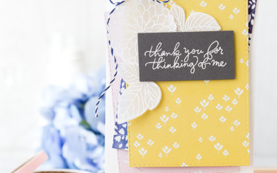 Layering Pretty Patterned Papers