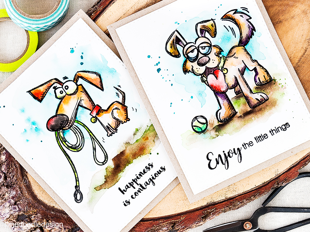 Crazy dogs. Find out more about this card by clicking on the following link: http://limedoodledesign.com/2016/07/masterpiece-box-blop-hop-and-giveaway/