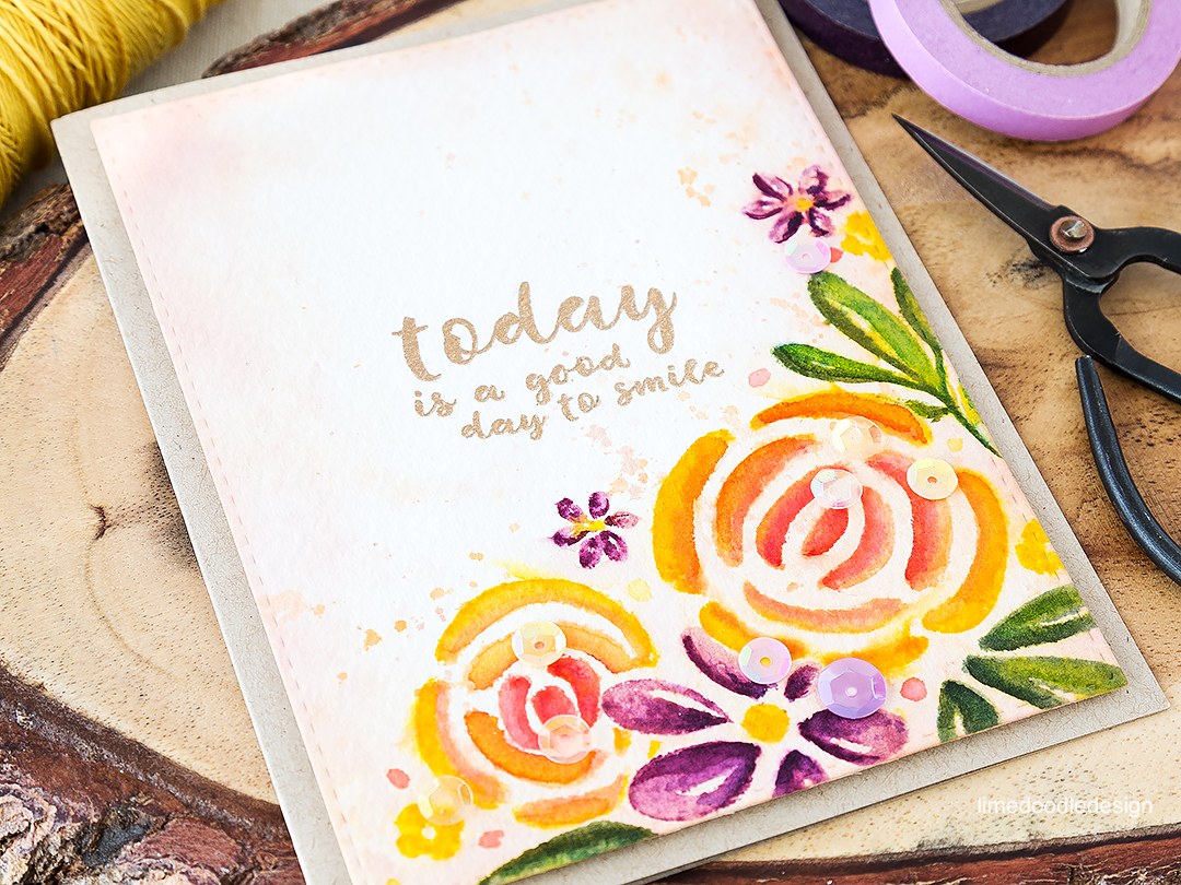 Today is a good day to smile - the evocative romance of a victorian flower garden. Find out more by clicking on the following link: http://limedoodledesign.com/2016/07/the-evocative-romance-of-a-victorian-flower-garden/ card
