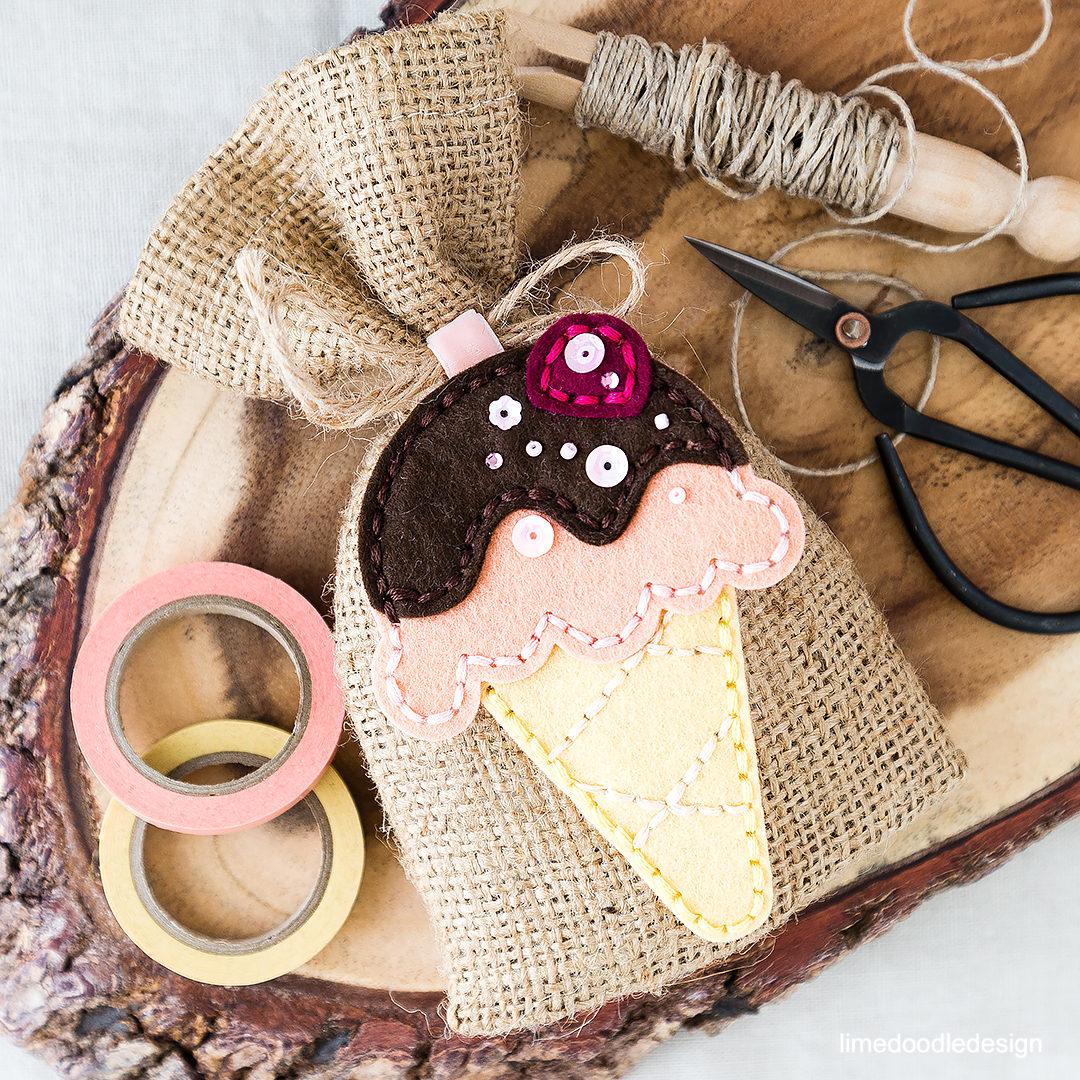 Natural Fabrics And Soft Muted Ice Cream Tones