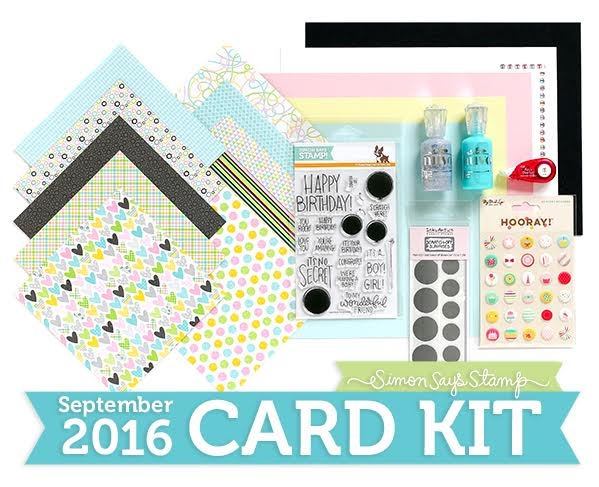 Check out the new @SimonSaysStamp card kit including fun scratch off stickers! 😃 http://limedoodledesign.com/SSSSEPTCK