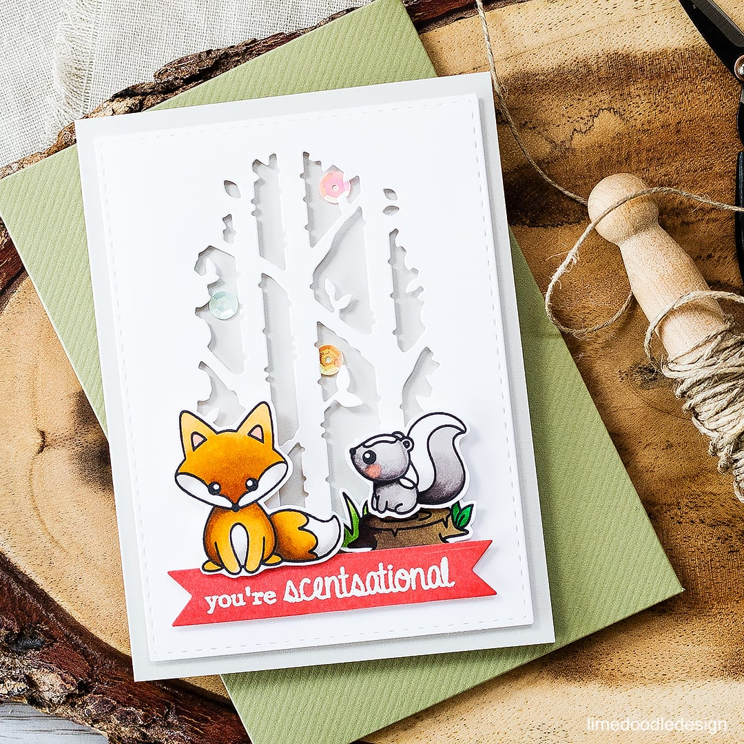 Scentsational Cute Critters! Find out more about this card by clicking on the following link: http://limedoodledesign.com/2016/09/scentsational-cute-critters/