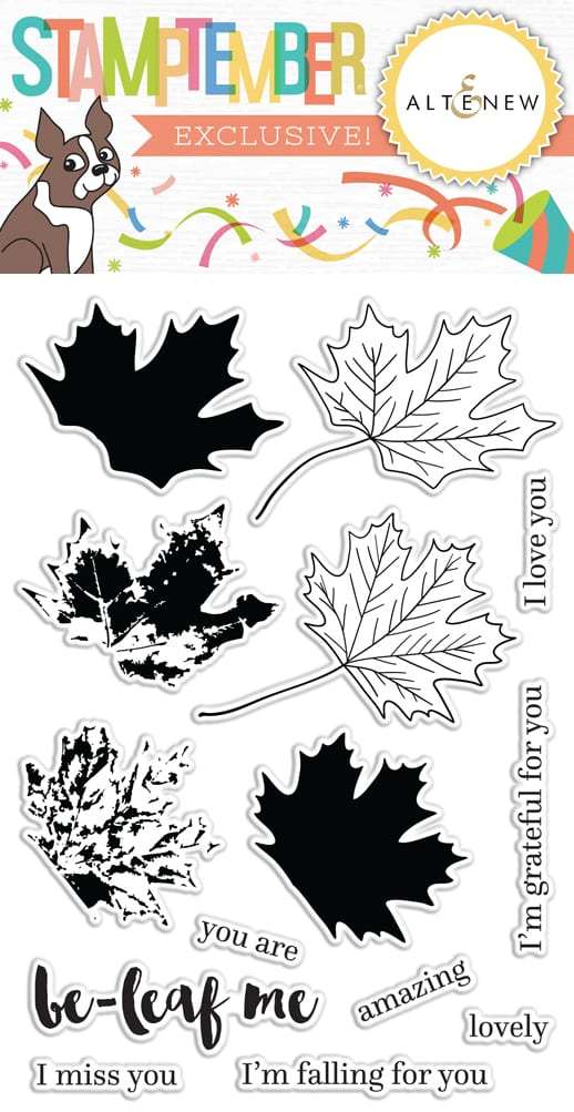 Be-leaf Me from Altenew for Simon Says Stamp STAMPtember