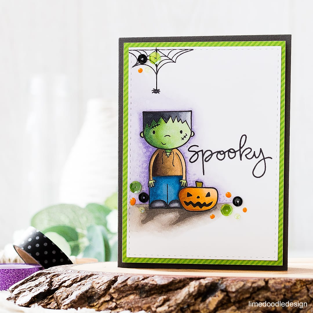 Halloween cards, treat bags, shaker card and pillow boxes with the Ghostly Greetings Card Kit. Find out more about these projects by clicking on the following link: http://limedoodledesign.com/2016/09/ghostly-greetings-special-edition-halloween-card-kit/