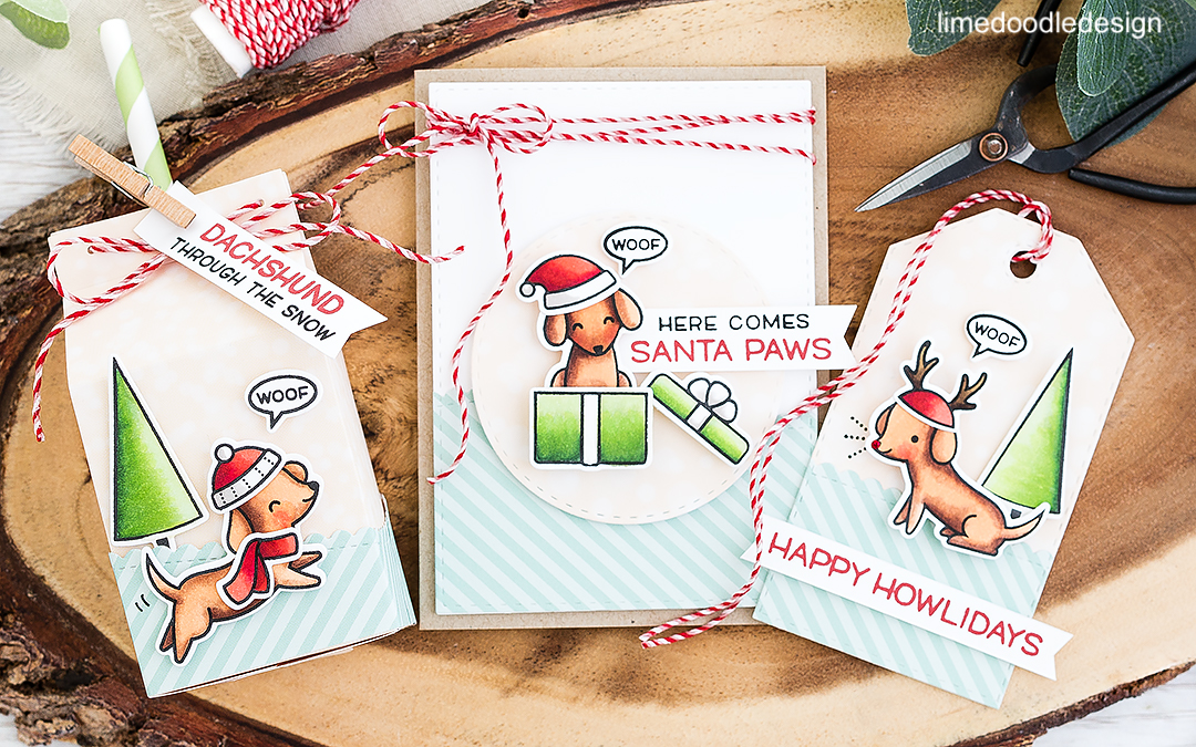 Stamptember Lawn Fawn – Happy Howlidays