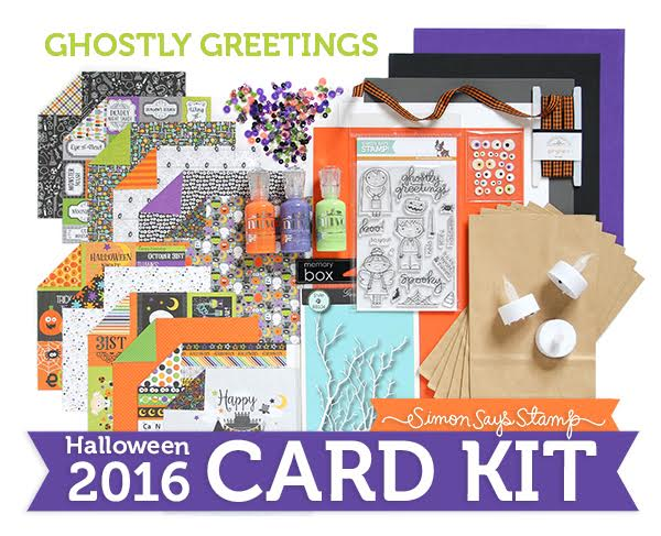 Ghostly Greetings Special Edition Card Kit from Simon Says Stamp